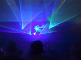 Lasershow im Einsatz