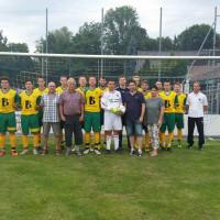 die Fußballmannschaft des FC Bad Rodach