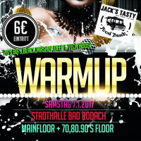 Logo Warm up Party 2017