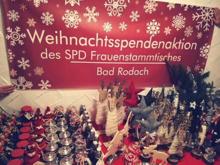 Spendenaktion des SPD Frauenstammtisches